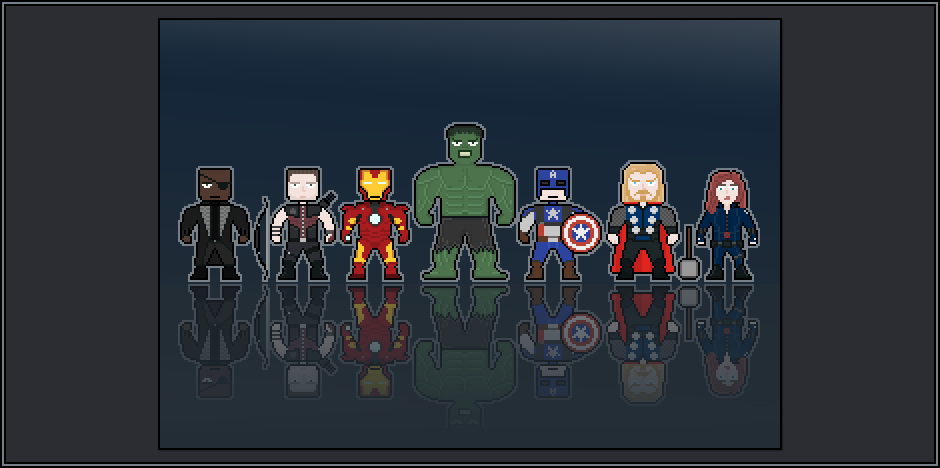 pixel avengers