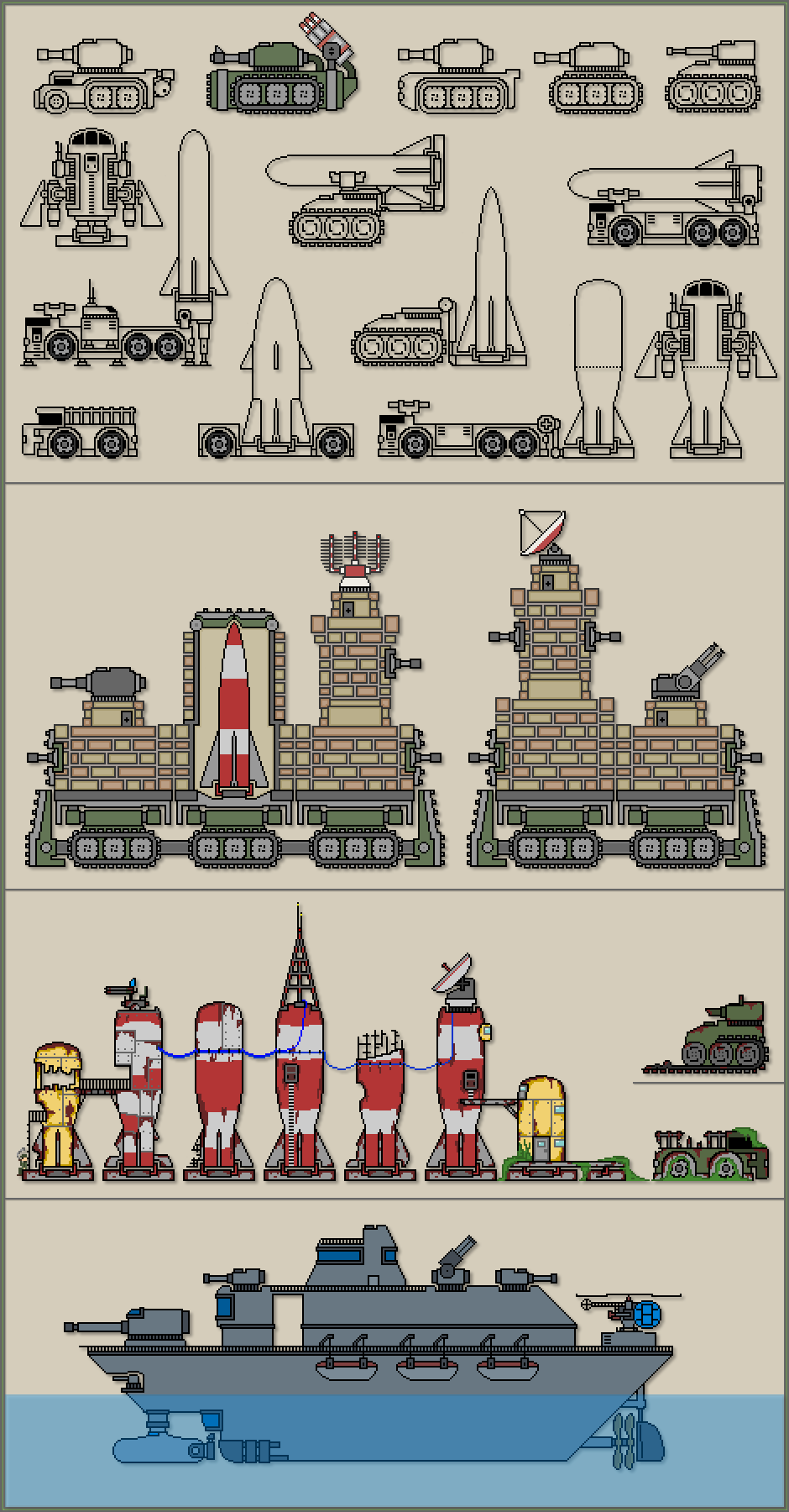 tanks and more
